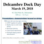Delcambre Dock Day: March 19, 2018