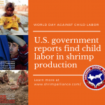 World Day Against Child Labor Includes Shrimp