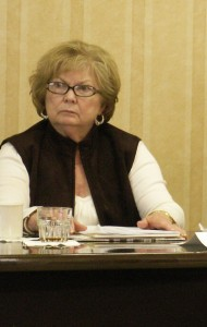 Elaine as Director for GA at SSA Board meeting in Tampa, FL