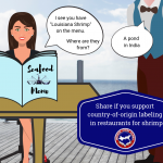 Southern Shrimp Alliance Supports Louisiana Labeling Legislation