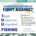 June 5: Fight Against Illegal, Unreported and Unregulated Fishing
